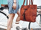 Gusti Umhängetasche Leder - Phoebe Shopper Ledertasche Handtasche Braun - 3