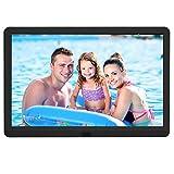 EastPoint Digitaler Bilderrahmen 10 Zoll, unterstützt max. 128G SD Karte, 1920x1080...