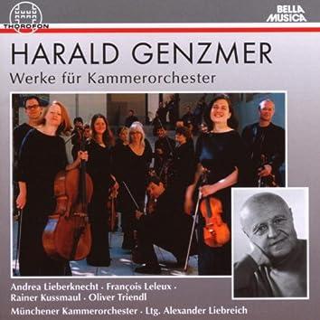 Harald Genzmer: Werke für Kammerorchester