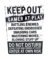 Game Room perfect Novelty Tin Sign