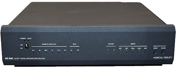 Musical Fidelity MX-DAC Digital-to-Analog Converter (Black)