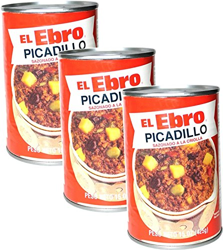 Picadillo de Carne a la Criolla. Ready to eat 15 oz can Pack of 3
