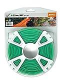Fil Stihl authentique pour coupe-bordures 2.0mm/mm (.080) x 123m/400'Rond vert