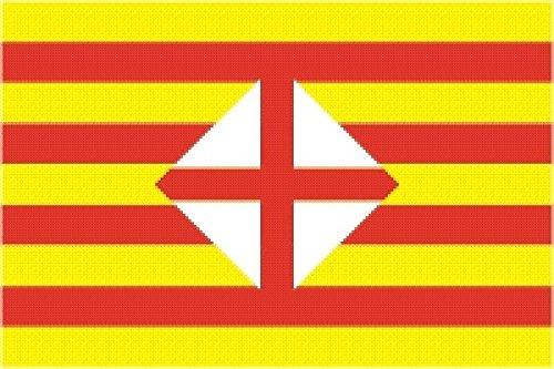 U24 vlag Barcelona 90 x 150 cm