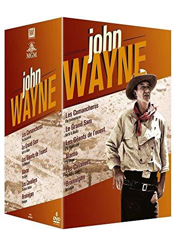 John Wayne : 6 films : Comancheros + Le grand Sam + Les géants de l'Ouest + Alamo + Les cavaliers + Brannigan [Francia] [DVD]