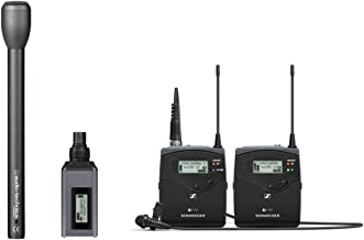 Sennheiser EW 100 ENG G4 Wireless Microphone Combo System A: (516-558 MHz) plus Handheld Omnidirectional Dynamic Microphone (Long Handle)