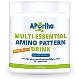 APOrtha Multi essential Amino Pattern I 400 g Bitterorange Drink mit 8 essentiellen Aminosäuren nach Prof. Dr. Lucà- Moretti für optimierte Eiweißversorgung I Aminosäuren komplex hochdosiert EAA -