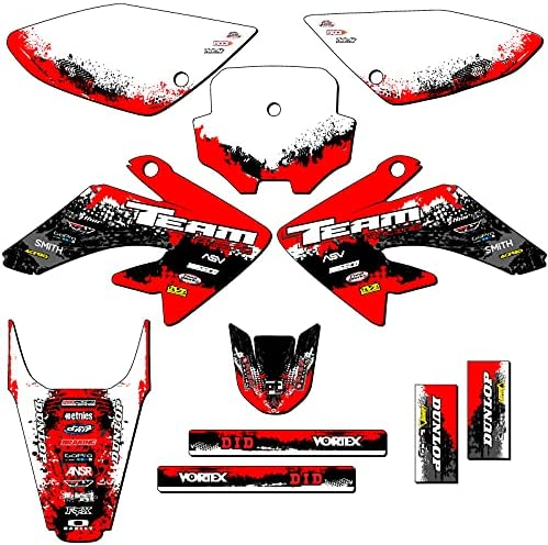 Team Racing discount Graphics kit Compatible 80 CRF outlet Honda 2004-2010 with