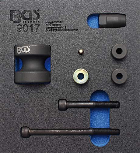 BGS 9017 | Werkstattwageneinlage 1/6: Einspritzdüsen-Demontage-Satz | für BMW Benzin-Direkteinspritzer