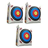 Morrell Weatherproof Supreme Range Archery Bag Target NASP Field Point Cover w/ 2 Shooting Sides and 4 Shooting Spots (Cover Only) (4 Pack)