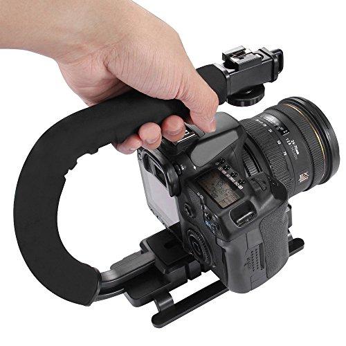 kingko® Berufs-U/C-Handstabilisator Hand-U/C-förmiger Gradienter Handstabilisator Steadycam Berufs Video Stabilisatoren für DSLR