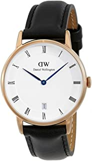 ダニエル ウェリントン DANIEL WELLINGTON 腕時計 1131DW ローズゴールド 34mm DAPPER SHEFFIELD ダッパー シェフィールド [並行輸入品]