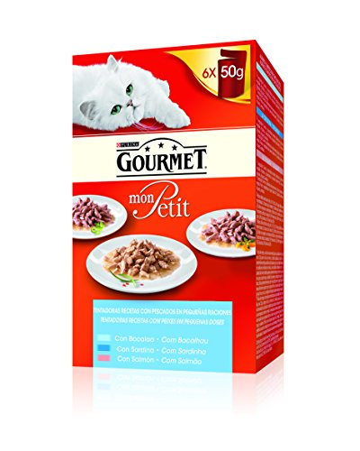 Purina C-70453 Gourmet Mon Petit Pescado - 6 x 50 gr 🔥