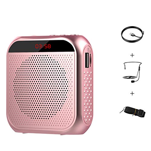 Bageek Voice Amplifier Multifunction Portable Voice Loudspeaker for School Office