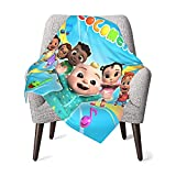 Super Soft Baby Blanket for Boys Girls Kids, Polyester Baby Girl Blanket Throw, Unisex Baby Fleece Blankets for Couch Sofa and Living Room 30 X 40 Inches