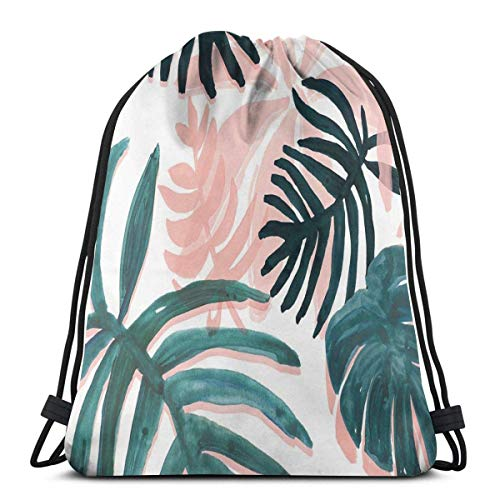 ERTERT Aesthetic Cute Background Drawstring Bag Water-Resistant String Backpack Portable Gym Bag Soft Drawstring Backpack Durable Cinch Pack for Kids Men Women