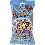 Hama Maxi Beads, mezcla de cuentas color pastel con 500 unidades , color/modelo surtido