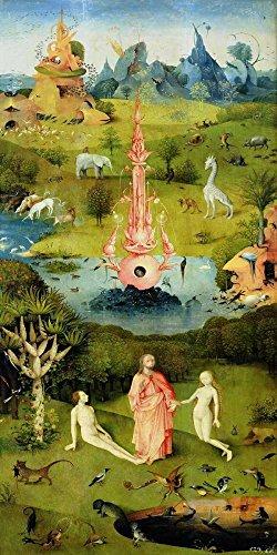 Feeling at home Impresion-en-Papel-Il-giardino-Delle-delizie-I-Bosch,-Hieronymus-Vendimia-190_X_93_cm