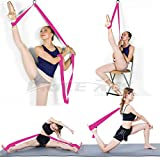 Adjustable Leg Stretcher Lengthen Ballet Stretch Band - Easy...