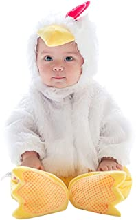 Küken Kostüm Baby,Unisex Tiere Strampler Kleinkind Spielanzug Karnevalskostüme Cosplay