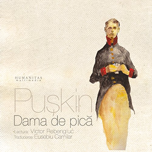 Dama de pică audiobook cover art