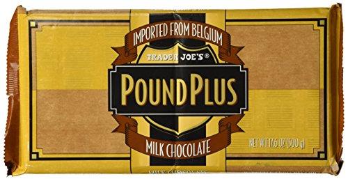 Trader Joe's Pound Plus Milk Chocolate 17.6 oz.