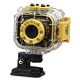 Vtech Kidizoom Action Cam HD 80-520204 - Fotocamera per bambini, multicolore