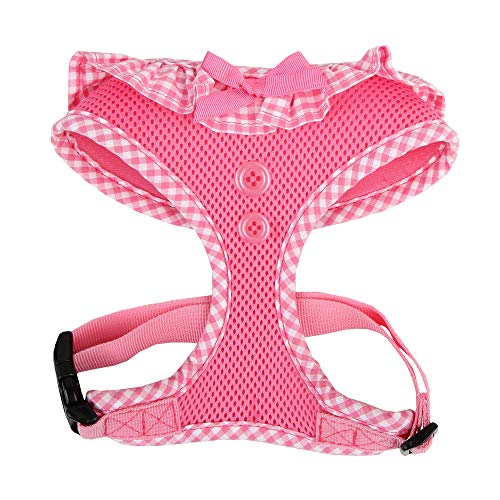 Puppia Authentic Vivien Harness, X-Small, Pink