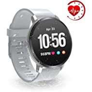 YoYoFit Smart Fitness Watch with Heart Rate Monitor, Waterproof Fitness Activity Tracker Step...