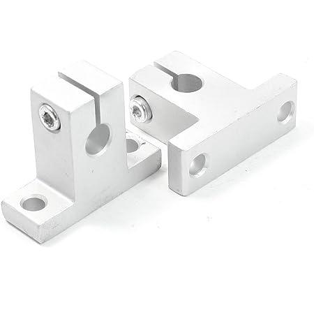 Robocraze SK8 8mm Linear Rail Shaft Clamping Guide Support (2 Pcs)