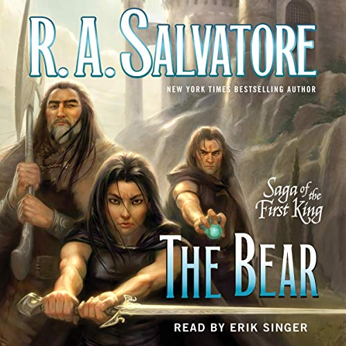 The Bear Audiobook By R. A. Salvatore cover art