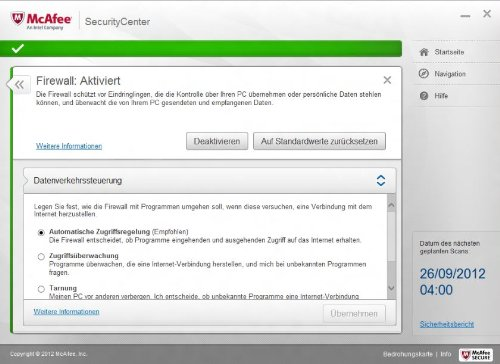 System Mechanic + McAfee Internet Security 2013 [import allemand]
