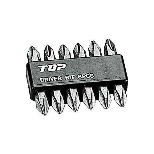 トップ(TOP) ドライバビット 電動ドリル用 マグネット付 6本組 DB2-4506