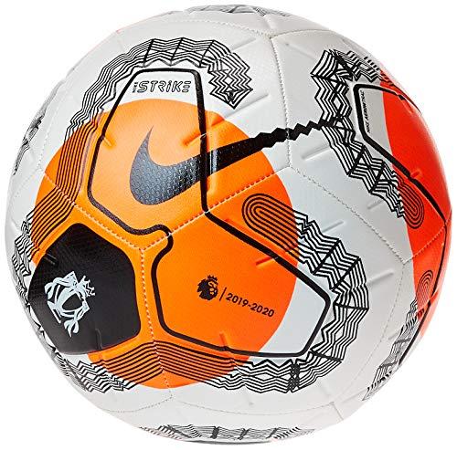 Nike 2020-21 Premier League Strike Ball - White-Orange-Black 4