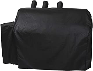 ProHome Direct Heavy Duty Waterproof Grill Cover for Char-Griller Duo 5050/5650 Gas and Charcoal Dual Fuel Grill Without Side Fire Box,Black