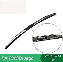 WQSNUB Wiper Blades,for Toyota Aygo,car Wiper,Hybrid Type Rubber, Windscreen Windshield Wipers, Car accessory2005-2014