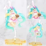 TtTt Hatsune Miku - Disfraz de primavera, diseño de orejas de conejo Hatsune Jingpin hecho a mano (color: orejas de conejo Hatsune)