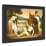 Printed Paintings Marco Americano (80x60cm): Henry Peters Gray - Los salarios de la Guerra