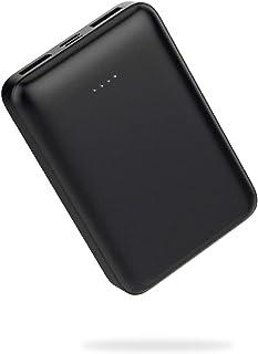[Amazon限定ブランド] CLIENA モバイルバッテリー 10000mAh (最小最軽量 名刺サイズ スマートフォン2台同時充電可能 大容量) 国内サポート 国内作成マニュアル iPhone12Mini約3回 iPhone12Max iP...