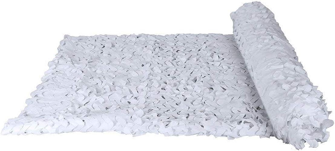 Camouflage parasol Filet De Camouflage Blanc Des Bois Chasse Tir Cacher Fête à Thème Dens Bedroom Décoration (Taille   3x15m)
