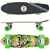 FunTomia Mini-Board Cruiser Skateboard 57cm aus 7-lagigem...