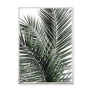 DIN A3 Kunstdruck Poster JUNGLE N°3 -ungerahmt- Palme, Wedel, tropisch, Natur, Pflanze