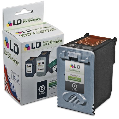 LD Remanufactured Ink Cartridge Replacement for HP 701 CC635A (Black)