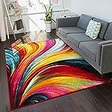 Well Woven Viva Pleasure Modern Abstract Multi Bright Area Rug 3'3' x 5'