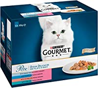 Provides 100% complete and balanced nutrition An assortment of tasty fish recipes for a varied diet Wet cat food pouches with added shrimps Combines esential vitamins and minerals