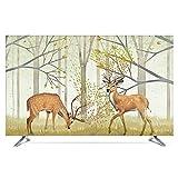 catch-L TV TV LCD Display Copertura Antipolvere Manicotto Protettivo Successo Instant Win (Color : Deer, Size : 40inch)