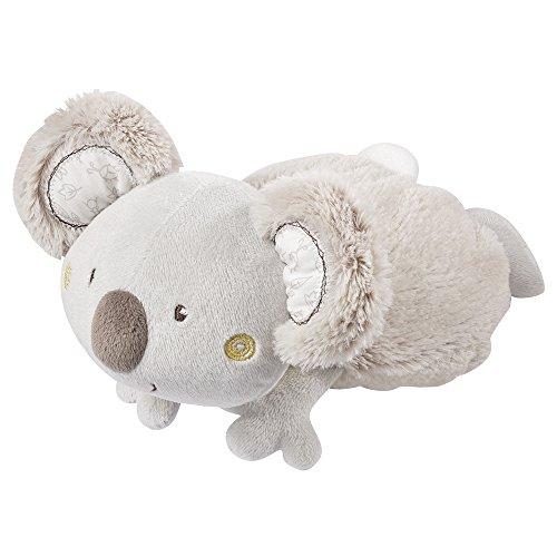 Fehn 064230 Wärmetier Koala – wohltuendes Traubenkernsäckchen in niedlicher Koala-Optik für Babys und Kleinkinder ab 0+ Monaten – Maße: 22 cm