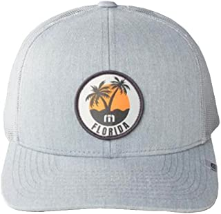 02c9b9a5fb0e4 Travis Mathew Sunshine State (Florida) Snapback Hat Heather Grey