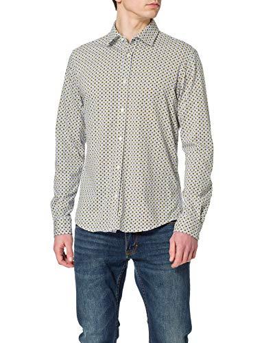 BOSS Mypop_3 10232586 01 Camisa, Natural101, XL para Hombre