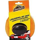 ARMOR ALL 3 Polierpads mit Griff GAA40067GC, für gleichmäߟiges Autragen + saubere Hände